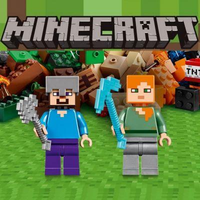 Конструкторы аналоги Lego Minecraft купить в интернет-магазине Tibamba