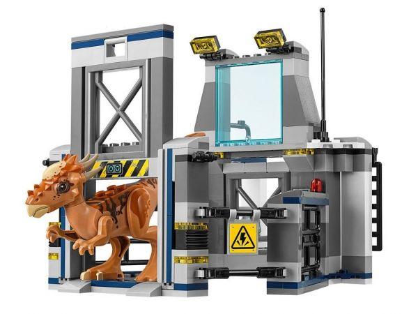 Конструктор Bela 10922 Побег Стигимолоха из лаборатории аналог Lego Jurassic World 75927