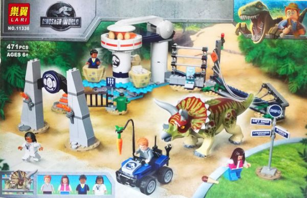 Конструкторы аналоги lego Jurassic World