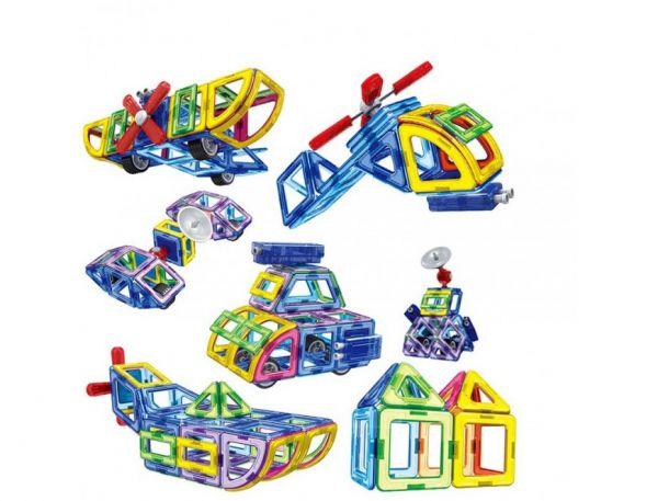Конструкторы для детей магнитные, металлические, электронные, с мотором
