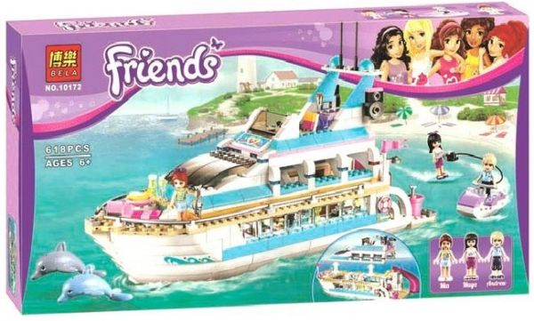 Конструкторы аналоги lego Friends