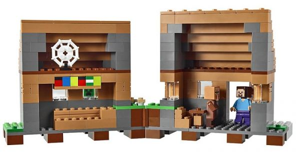 Конструкторы аналоги lego Minecraft