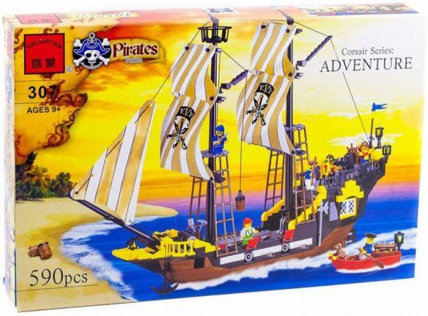 Конструкторы аналоги Lego Пираты Brick