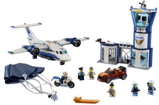 Конструктор Lari 11210 Воздушная полиция: авиабаза