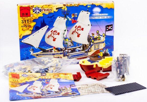 Конструктор Brick 311 Большой пиратский корабль