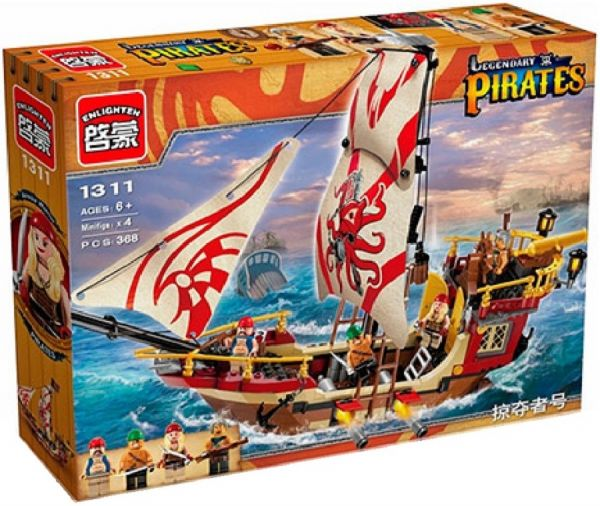 Конструкторы Пираты Brick